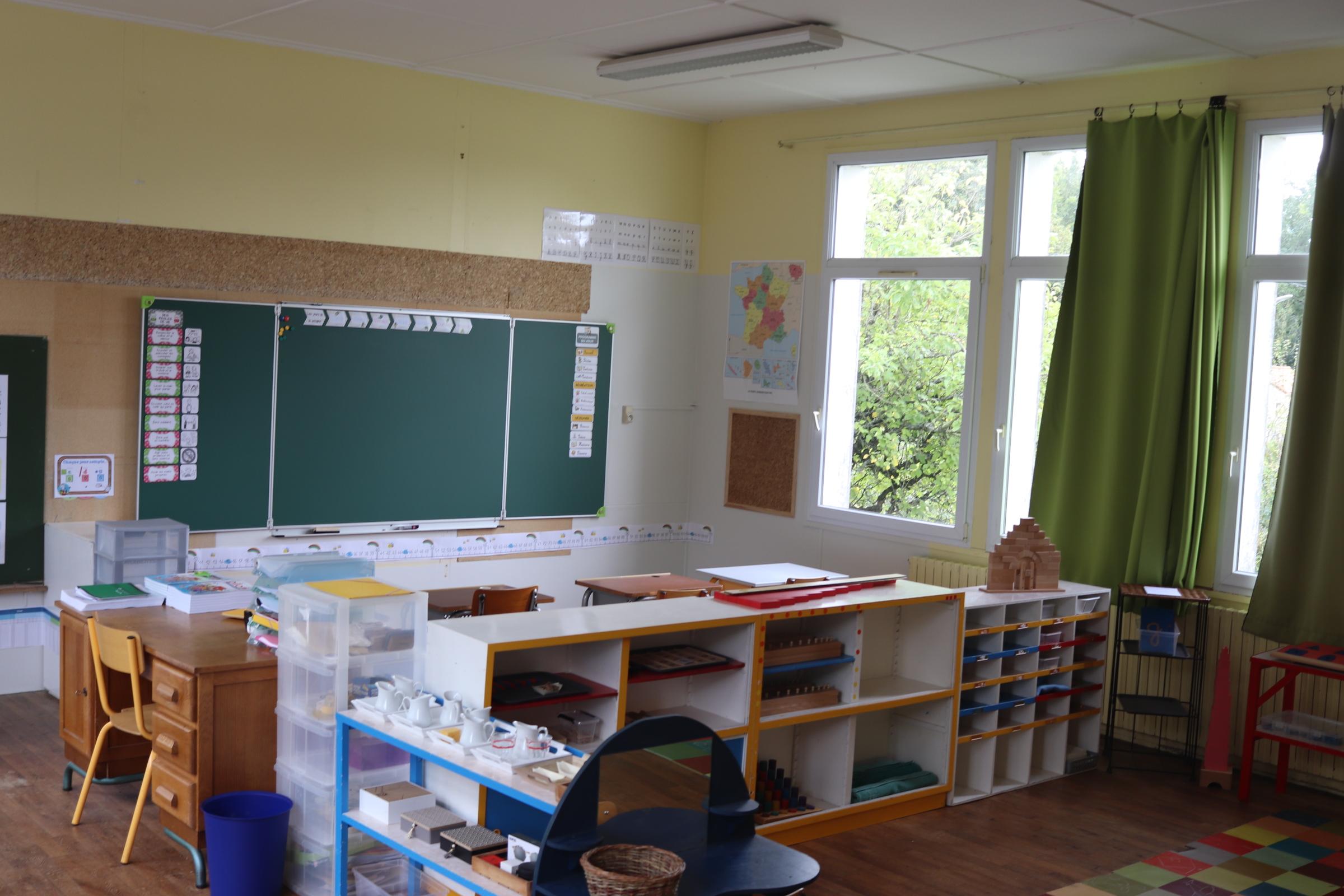 Classe Maternelle-CP