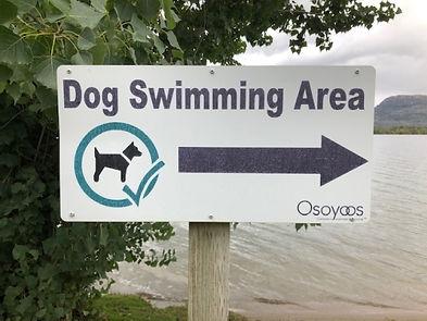 55. Lakeshore Drive Osoyoos BC dog beach