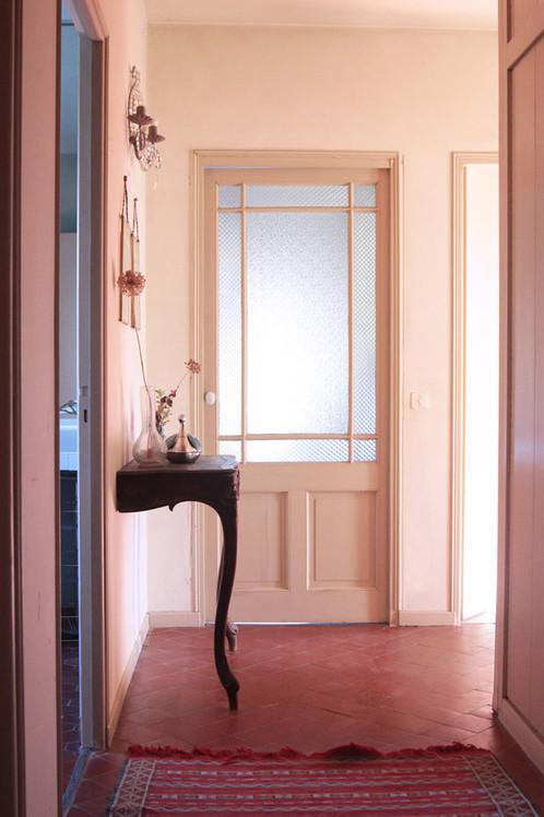 Le Mas Méjean - St Rémy de Provence - bedrooms corridor