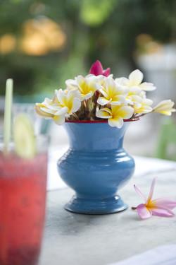 Enamel flower pot