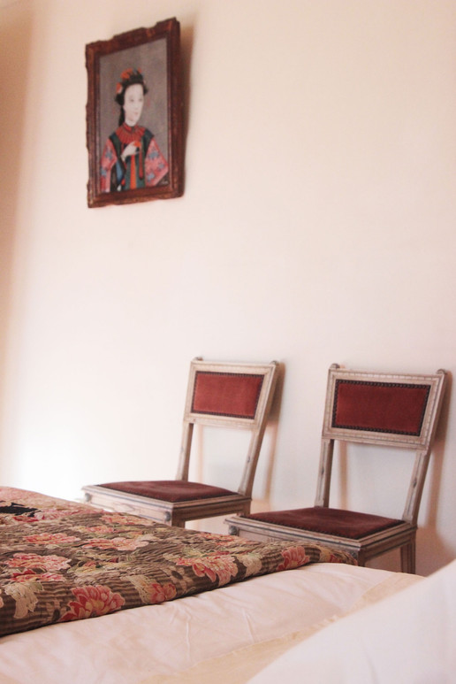 Le Mas Méjean - St Rémy de Provence - Master bedroom decor