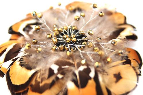 PLUME - Cheetah Brooch