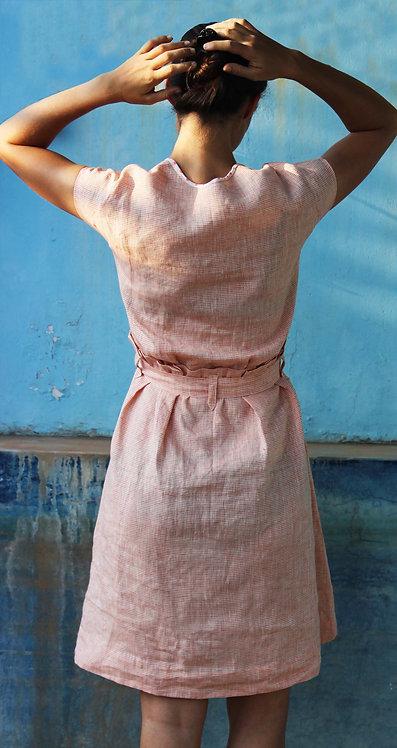 PAPER BAG DRESS - MARCH BREEZE