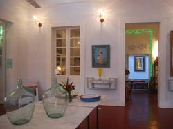Central room at La Maison Rose