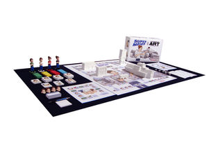 ArtisMe, The Game of Contemporary Art, Institutional Version (Version Française).