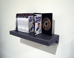 Ensemble de DVD de l'animation ''Trapped in Contemporary Art/ Piégée dans l'art contemporain''