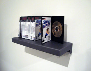 Ensemble de DVD de l'animation ''Trapped in Contemporary Art/ Piégée dans l'art contemporain''