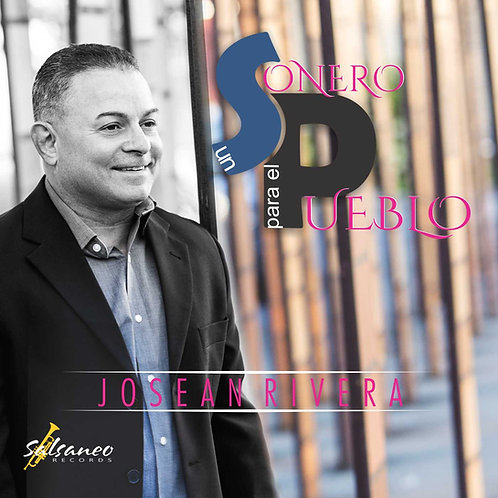"""LP Josean Rivera """"Un Sonero Para El Pueblo"""" Black"""