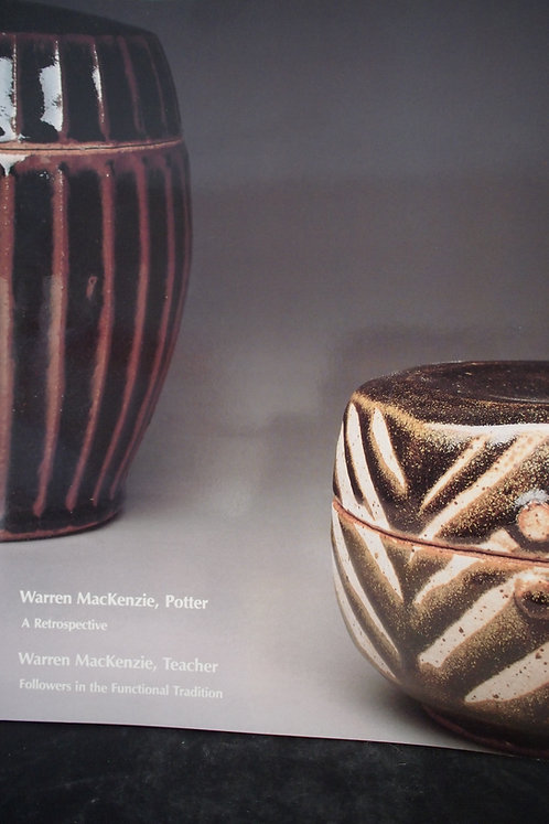 Book: Warren Mackenzie, Potter - A restrospective
