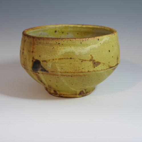 Warren Mackenzie Large Bowl With Brushwork
