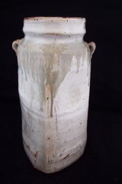 Warren pottery vase