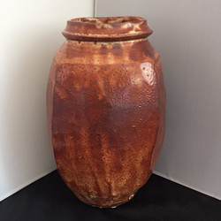 squared shino vase