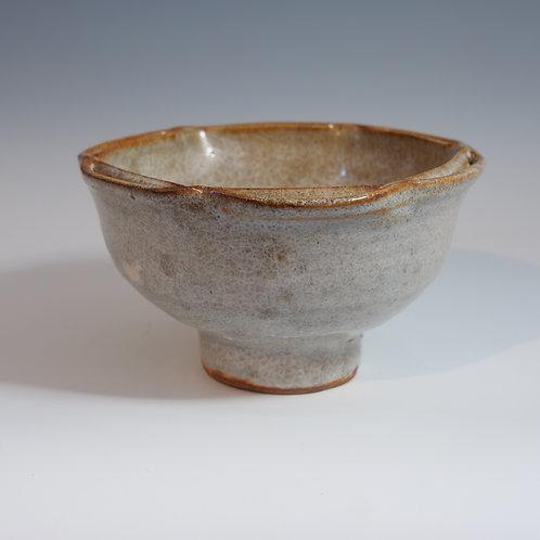 Warren Mackenzie Large footed Bowl split rim