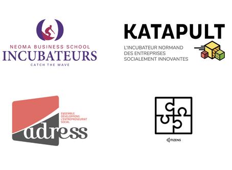 """Les incubateurs """"Neoma BS"""" et """"Katapult"""" accompagnent Citizens !"""