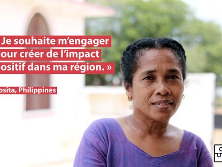 """""""Je souhaite m'engager pour créer de l'impact positif dans ma région !"""""""