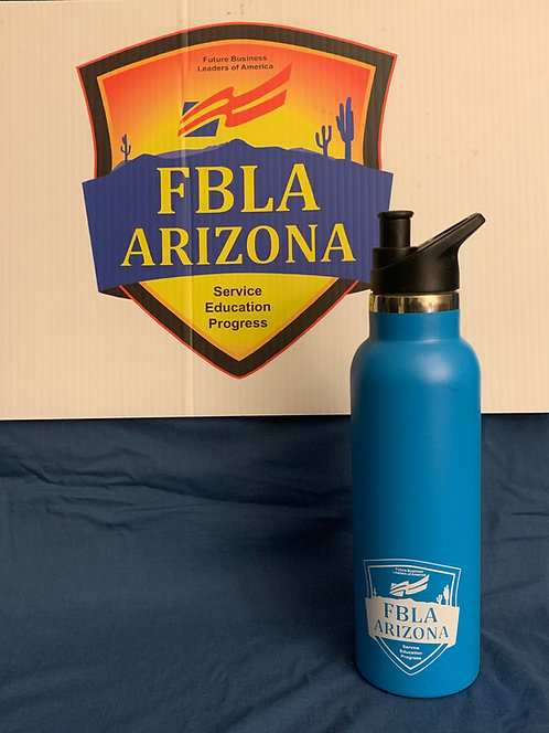 16oz Blue Hydro-Flask