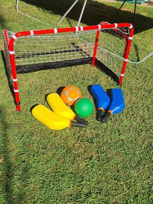 Mini Hockey & Soccer Set