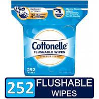 Public Service Announcement: Flushable Wipes