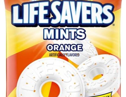 Review: Lifesavers Mints - Orange