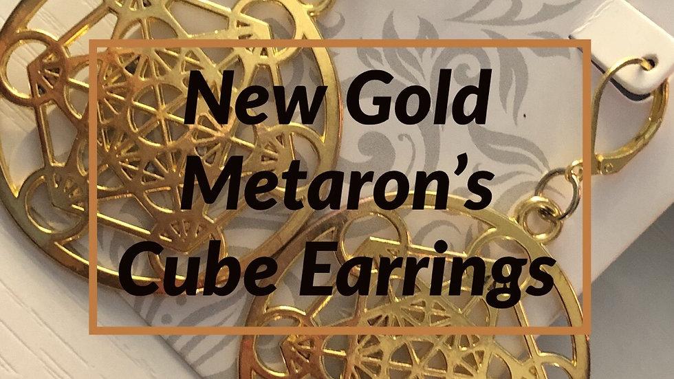 Metaron's Cube Earrings