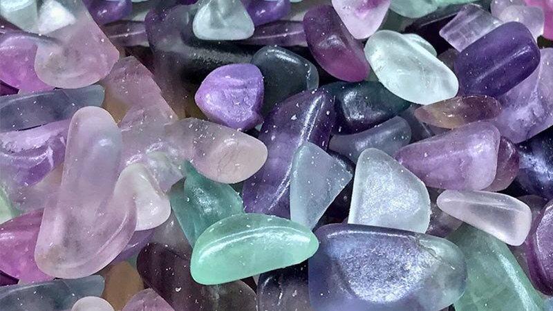 Natural Fluorite Crystals