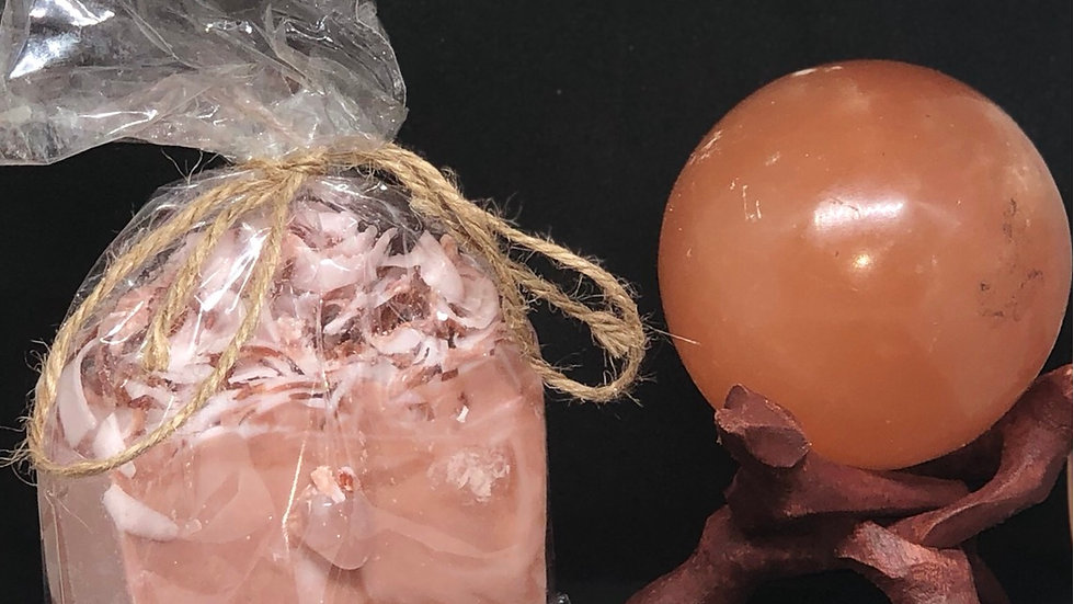Love Me Crystal Soap Rose 🌹 Quartz