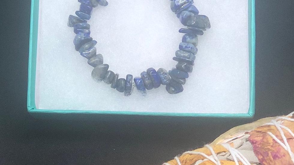 Sodalite Crystal Bracelets