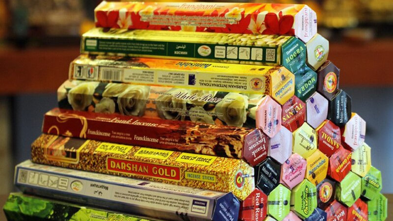 3/6/9/Boxes Tibetan Incense Stick White Sage Indian Incense Premium
