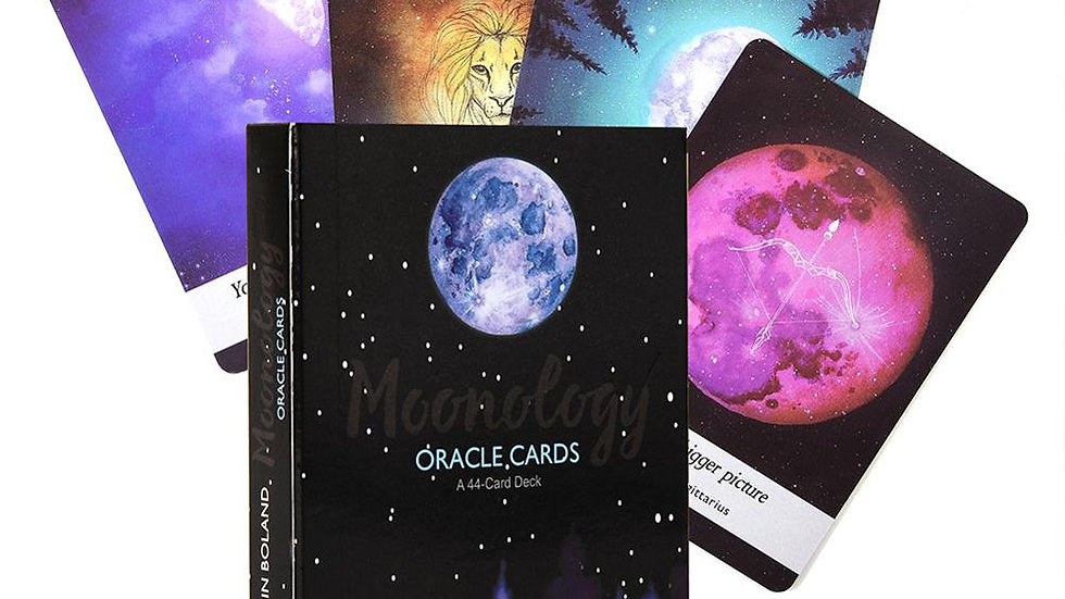 Moonology Oracle Cards Magical Tarot Cards