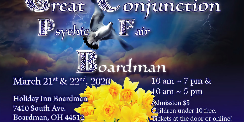 CANCELLED Great Conjunction Psychic Fair