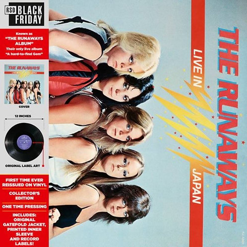 "The Runaways, ""Live In Japan"""