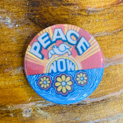 Peace Now Pin