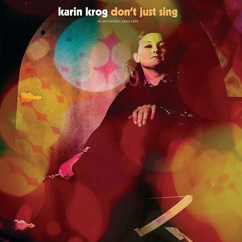 """Karen Krog, """"Don't Just Sing"""""""