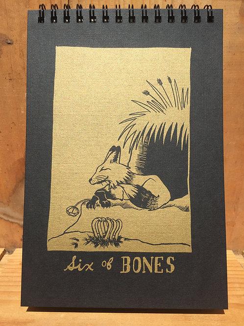 Six of Bones notebook