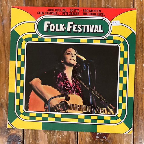 "Various Artists, ""Folk-Festival"" German Pressing"