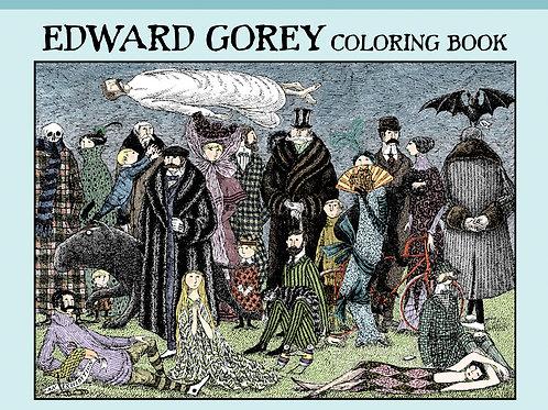 Edward Gorey coloring book