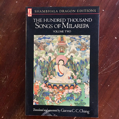 The Hundred Thousand Songs of Milarepa, volume two (used)
