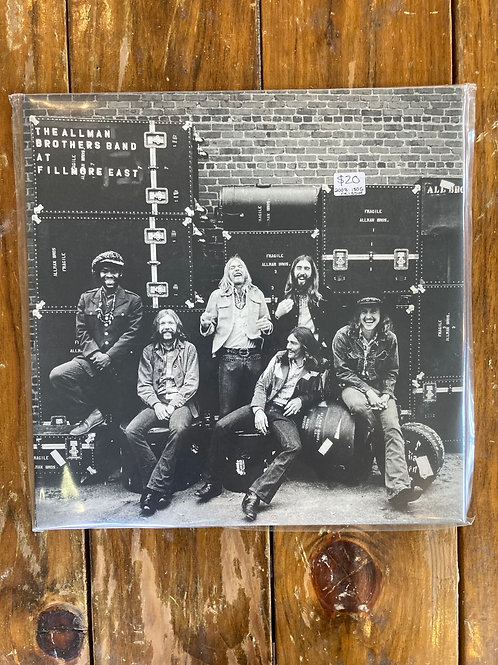 "Allman Brothers Band, ""At Fillmore East"" USED"