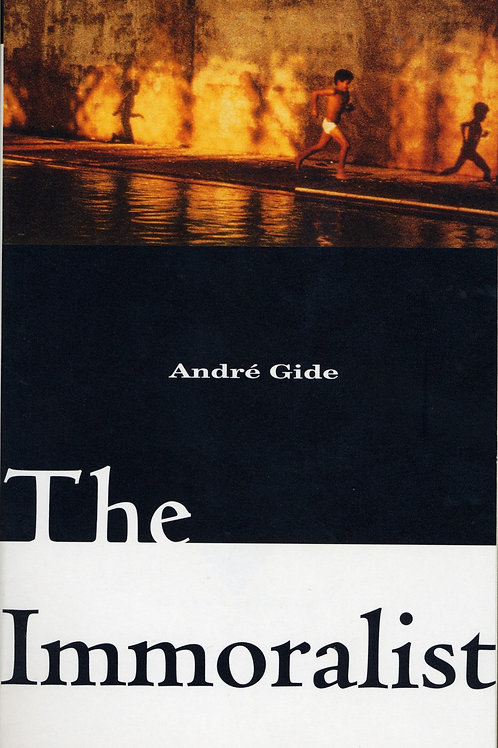 The Immoralist by Andre Gide (used)