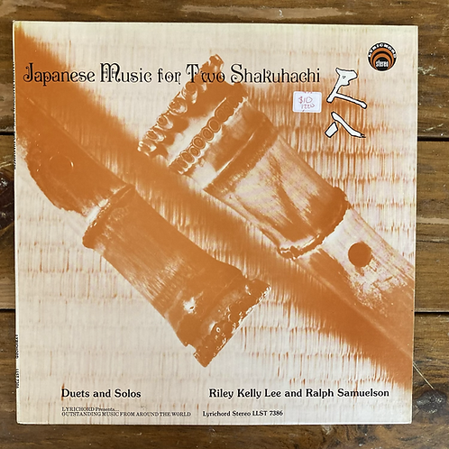 Riley Kelly Lee & Ralph Samuelson, Japanese Traditional Music for Two Shakuhachi
