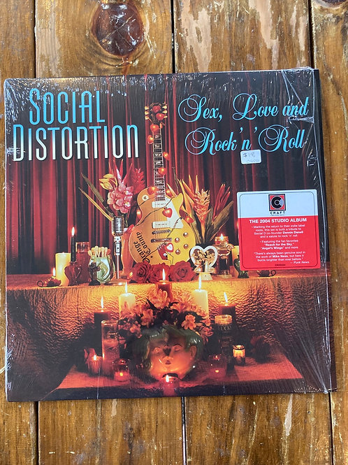 "Social Distortion, ""Sex, Love and Rock'n'Roll"" USED"