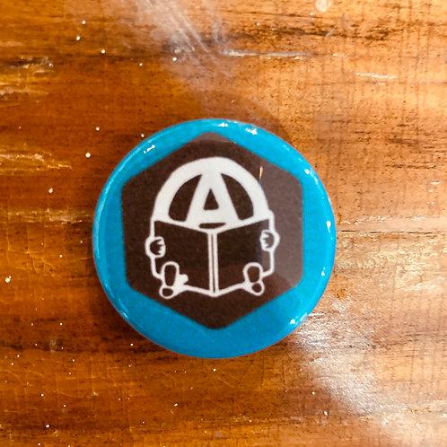 Anarchist Book Button