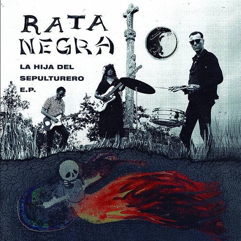 """Rata Negra, """"La Hija Del Sepulturero EP"""" 7"""""""