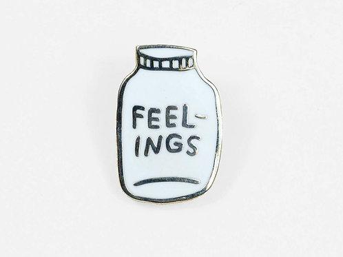 Bottled-Up Feelings Pin