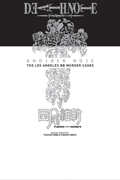 Death Note Another Note: The Los Angeles BB Murder Cases by Nisio Isin (used)