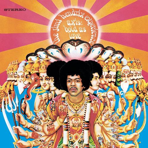 Jimi Hendrix, Axis: Bold As Love
