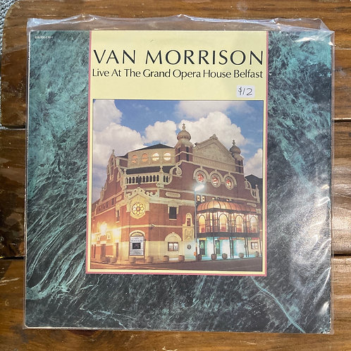 "Van Morrison, ""Live at the Grand Opera House Belfast"" USED"
