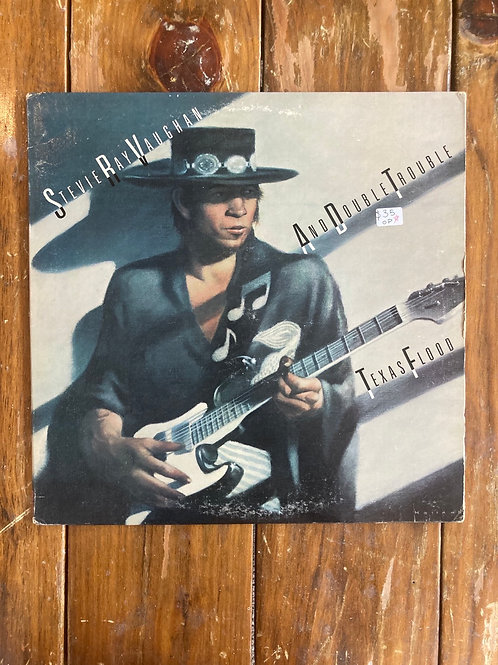 "Stevie Ray Vaughan and Double Trouble, ""Texas Flood"" Original Pressing"