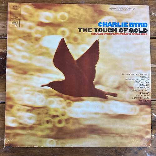 """Charlie Byrd, """"The Touch of Gold"""" USED"""