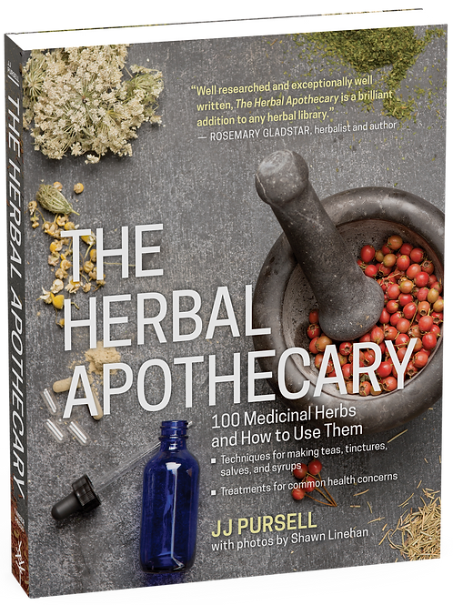 Herbal Apothecary: 100 Medicinal Herbs and How to Use Them